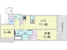 クリスタルエグゼ南堀江 3680万円(1LDK+S(納戸))平成30年築の築浅マンション。